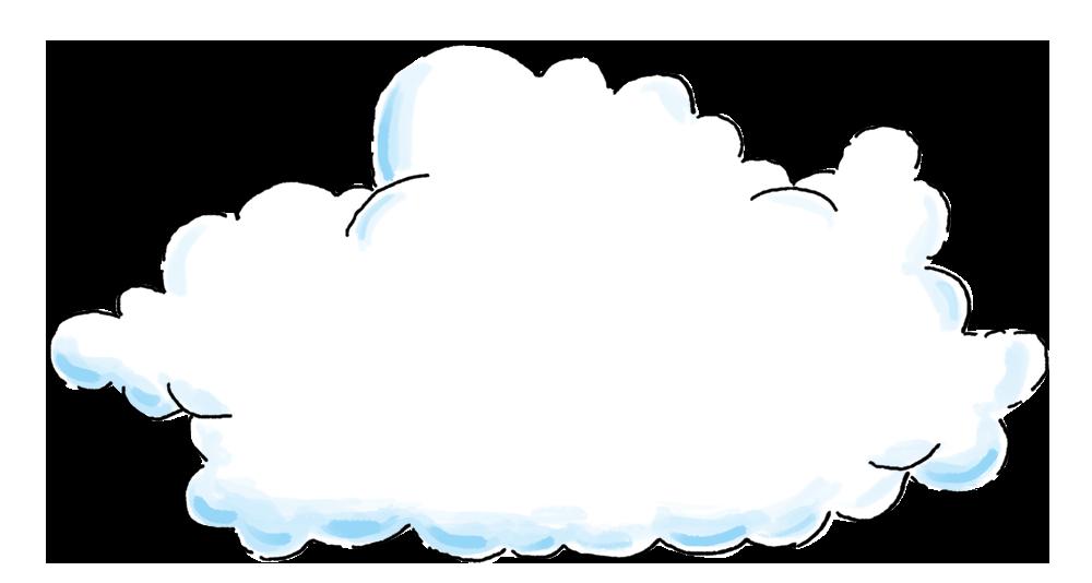 Cloud background image xtra large