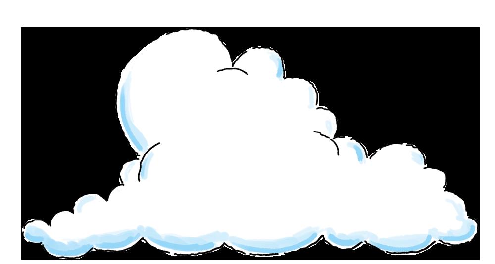 Cloud background image large